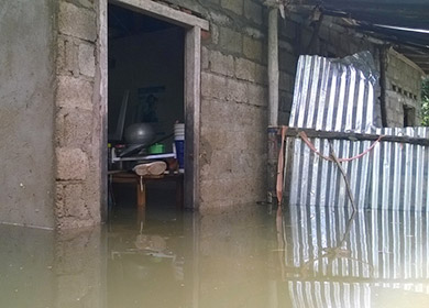 Hilfe für Flutopfer