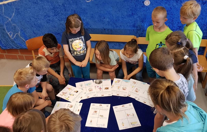 Neue Kontakte zwischen Grundschulkindern geknüpft!